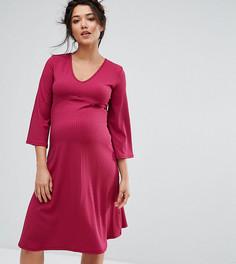 Свободное платье Bluebelle Maternity - Красный