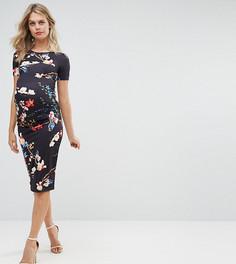 Облегающее платье с короткими рукавами Bluebelle Maternity - Мульти