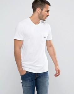 Белая футболка классического кроя с логотипом на кармане Penfield - Белый