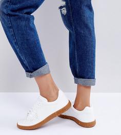 Кроссовки в стиле ретро с каучуковой подошвой в крапинку Le Coq Sportif Icons - Белый