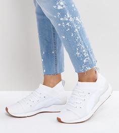 Белые кроссовки на шнуровке Puma Pearl - Белый