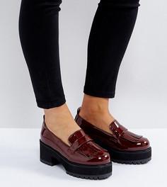 Туфли на каблуке для широкой стопы ASOS OPAQUE - Красный