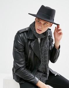 Черная шляпа ASOS - Черный
