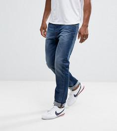 Синие суженные книзу джинсы стандартного кроя Diesel 084HV - Синий