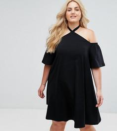 Летнее платье ASOS CURVE - Черный