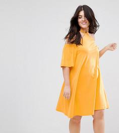 Летнее платье ASOS CURVE - Оранжевый