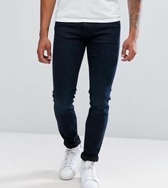 Эластичные узкие джинсы Jack & Jones TALL Intelligence - Синий