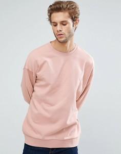 Розовый оверсайз-свитшот ASOS - Розовый