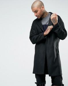 Пальто из ткани с добавлением шерсти Religion - Черный