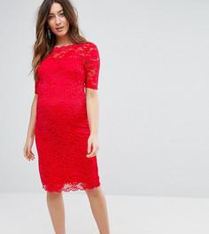 Кружевное платье для беременных Mamalicious - Мульти Mama.Licious