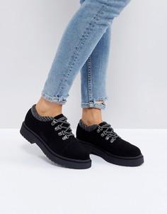 Походные туфли ASOS MARCHER - Черный