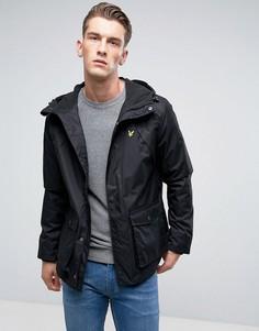 Черная куртка с флисовой подкладкой Lyle & Scott - Черный