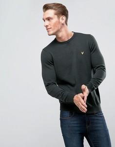 Джемпер цвета хаки с добавлением мериносовой шерсти Lyle & Scott - Зеленый