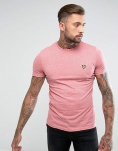 Розовая футболка с логотипом Lyle & Scott - Розовый