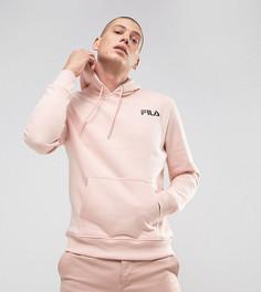 Худи черного цвета с розовым логотипом Fila эксклюзивно для ASOS - Розовый