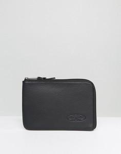 Черный кожаный чехол для iPad Mini Eastpak - Черный
