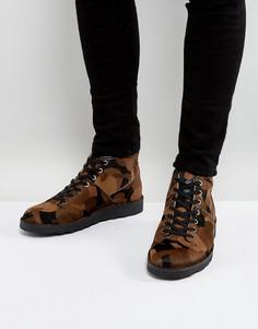 Ботинки с камуфляжным принтом PS by Paul Smith Rainey - Зеленый