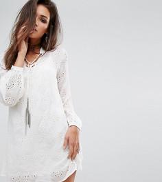 Свободное полупрозрачное платье Religion - Белый