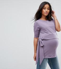 Футболка для кормящих мам ASOS Maternity - Фиолетовый
