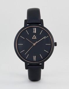 Золотисто-розовые часы ASOS - Черный