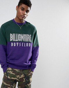 Свитшот со светоотражающим логотипом Billionaire Boys Club - Зеленый