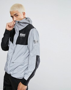 Светоотражающая куртка Billionaire Boys Club - Серебряный