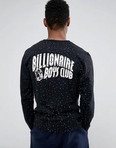 Лонгслив с космическим принтом Billionaire Boys Club - Черный