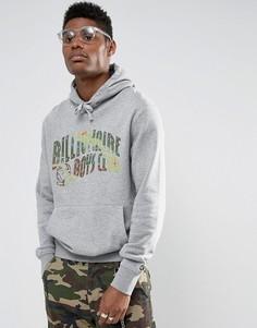 Худи с камуфляжным принтом логотипа Billionaire Boys Club - Серый