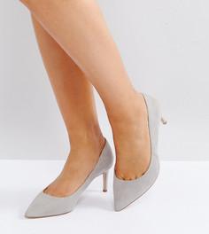 Туфли на каблуке для широкой стопы ASOS SOULFUL - Серый