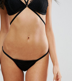 Кружевные плавки-бикини Missguided - Черный