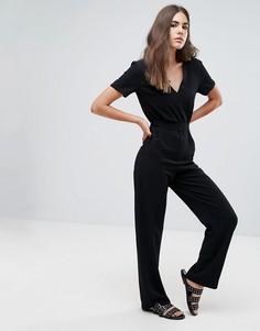 Приталенный комбинезон Pepe Jeans Mona - Черный