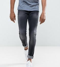 Супероблегающие черные джинсы Blend Lunar - Черный