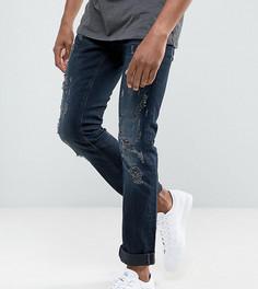 Черные рваные джинсы скинни Blend Cirrus - Черный