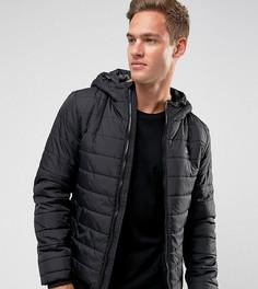 Стеганая куртка с капюшоном Blend - Черный