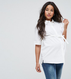 Рубашка с короткими рукавами Mamalicious - Белый Mama.Licious