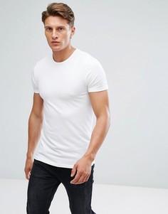 Облегающая футболка Burton Menswear - Белый