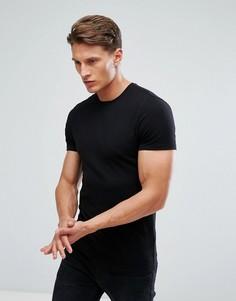 Облегающая футболка Burton Menswear - Черный