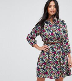 Платье-туника с поясом Yumi Petite - Мульти
