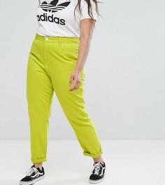 Неоновые джинсы в винтажном стиле ASOS Curve - Мульти