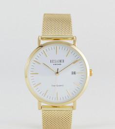 Часы Reclaimed Vintage Inspired эксклюзивно для ASOS - 36 мм - Золотой