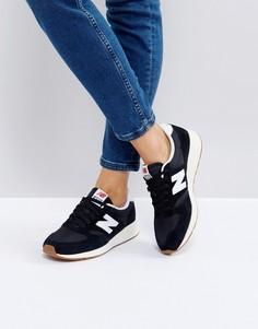 Черные кроссовки на резиновой подошве New Balance 420 - Черный
