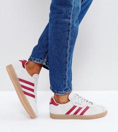 Серые кроссовки adidas Originals Gazelle - Серый