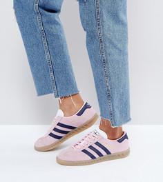 Розовые кроссовки adidas Originals Hamburg - Розовый