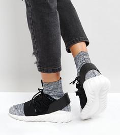 Черные кроссовки adidas Originals Tubular Doom - Черный