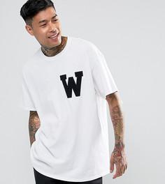 Свободная белая футболка Reclaimed Vintage Inspired - Белый