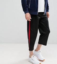Свободные брюки с полосой Reclaimed Vintage Inspired - Черный