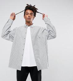 Оверсайз-рубашка в клетку Reclaimed Vintage Inspired - Белый