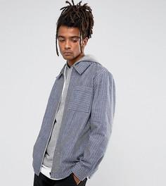 Рубашка в полоску Reclaimed Vintage - Темно-синий