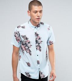 Рубашка классического кроя с цветочным принтом Reclaimed Vintage Inspired - Синий