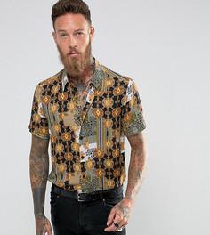 Рубашка классического кроя с принтом в стиле барокко Reclaimed Vintage Inspired - Черный